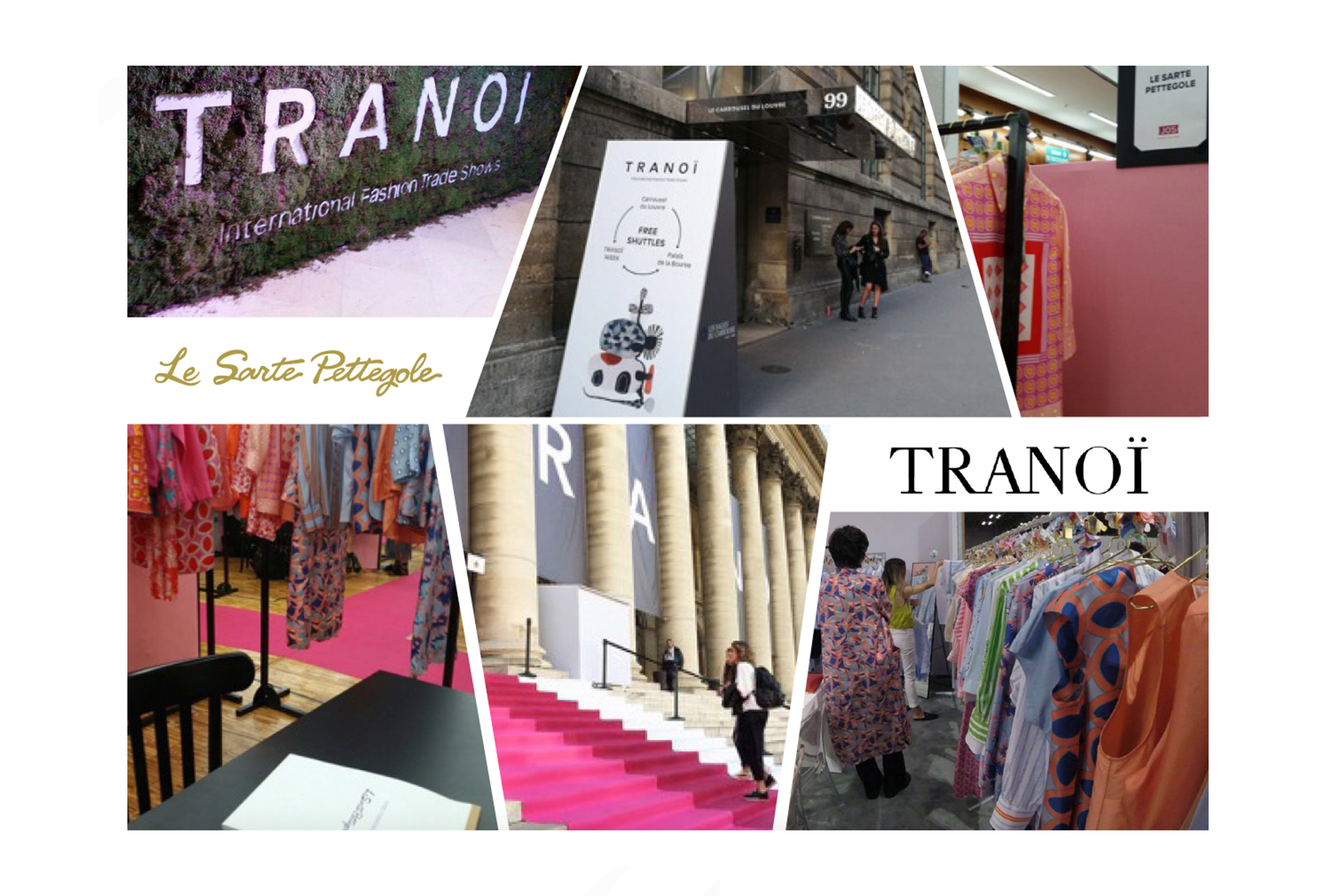 the new Spring Summer 2018 collection in Paris @ TRANOÏ.