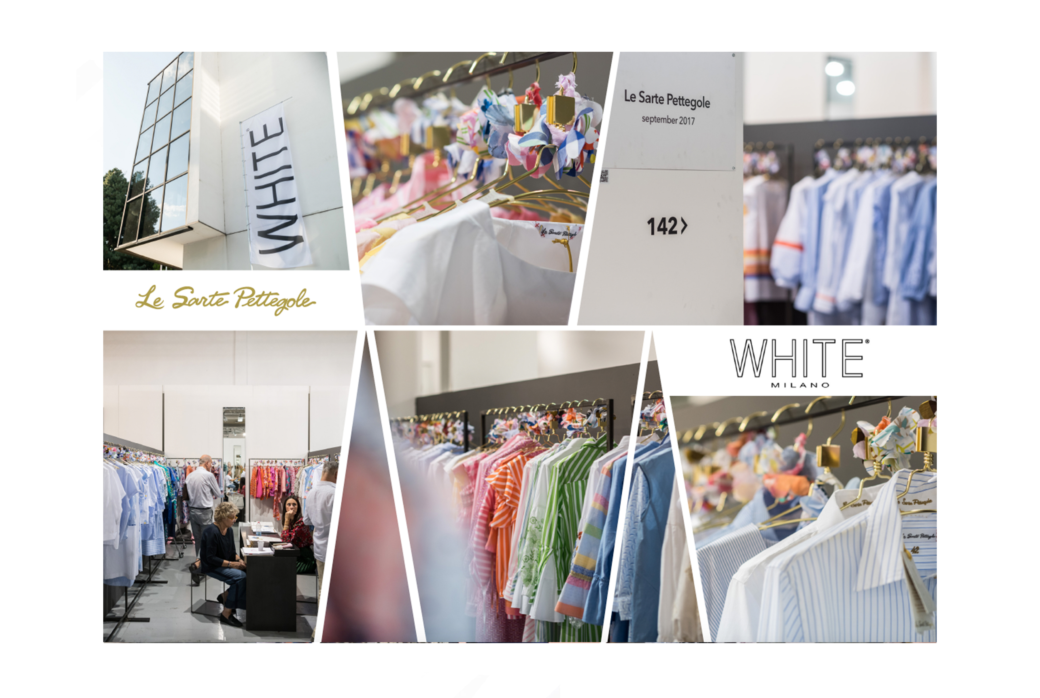 The new Spring-Summer 2018 collection at White Show.